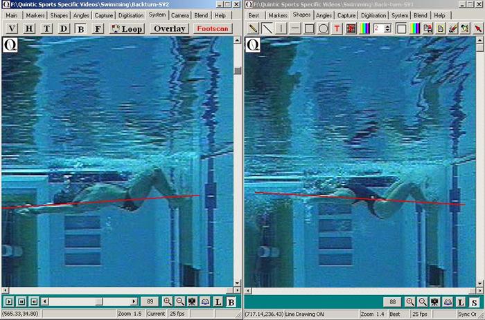 backstroke tumble